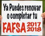Facebook FAFSA 2017-2018