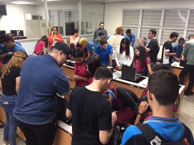 Visita escuela Emilio R. Delgado