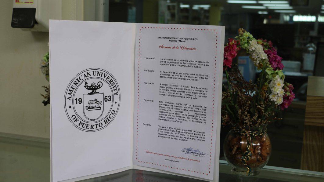Firma y Lectura de la Proclama