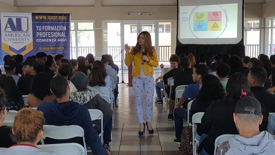 Taller de Empresarismo a los estudiantes ARUN