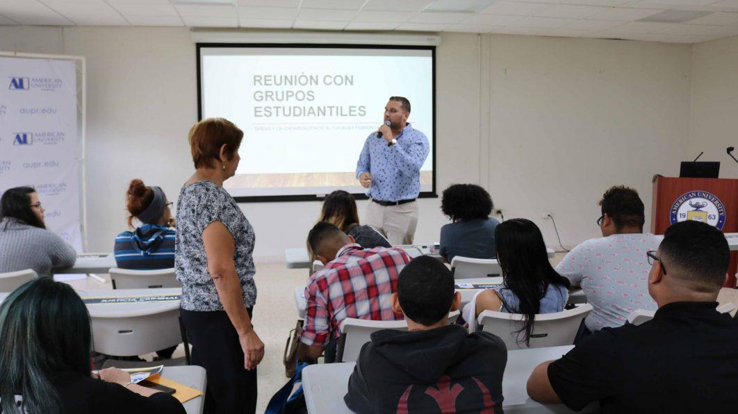 Reunión Integrantes Asoc. y Org. Estud. / Bayamón