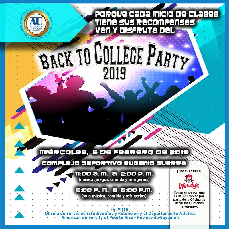 """Back to college 2019"""